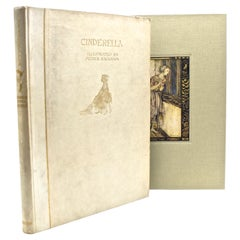 Cinderella, C.S. Evans, Signed by Arthur Rackham, Limited Edition de Luxe, 1919