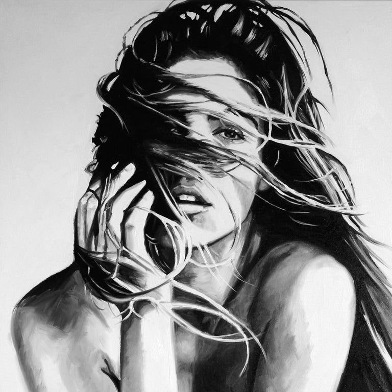 Cindy Press Figurative Painting - Always On My Mind