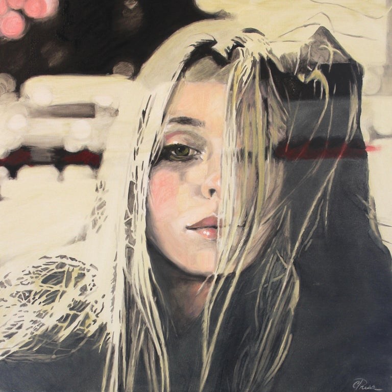 Cindy Press I Finally Sat Alone Painting For Sale At