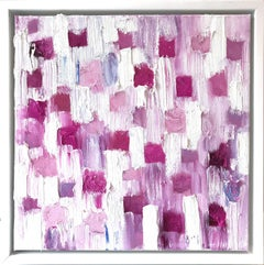"""""""Dripping Dots - Parc de Bagatelle"""" Colorful Abstract Oil Painting on Canvas"""