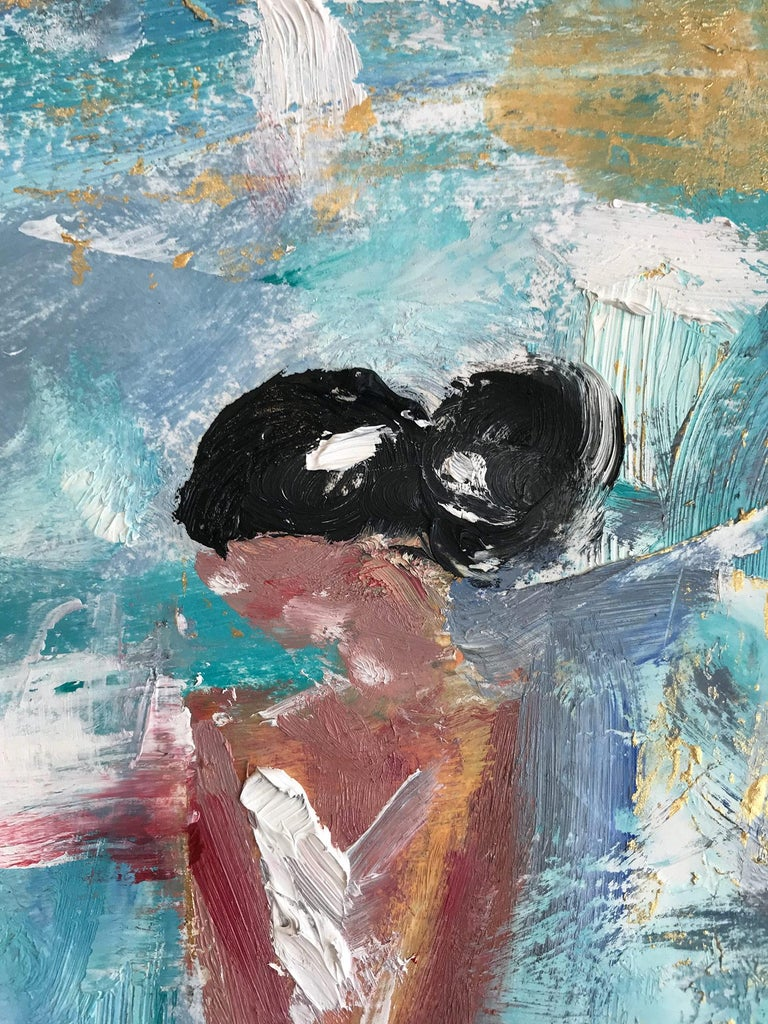 Giulianna, Abstract Figure on Paper 6