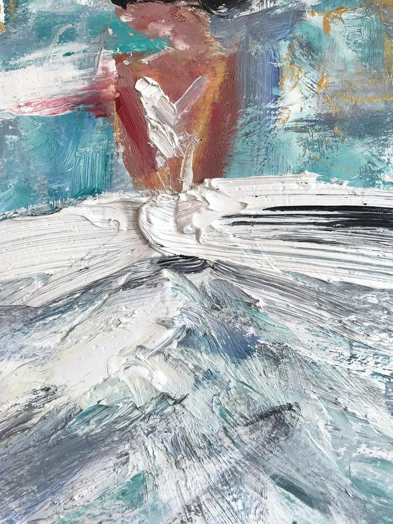 Giulianna, Abstract Figure on Paper 3