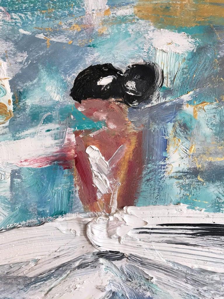 Giulianna, Abstract Figure on Paper 4