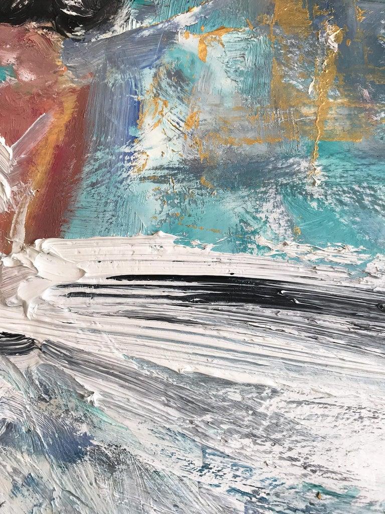 Giulianna, Abstract Figure on Paper 5
