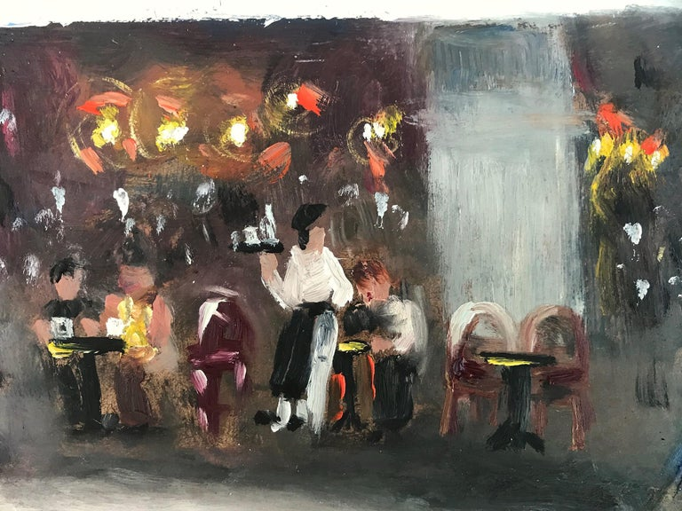 Le Soleil D'Or, Paris, Impressionist Street Scene 10