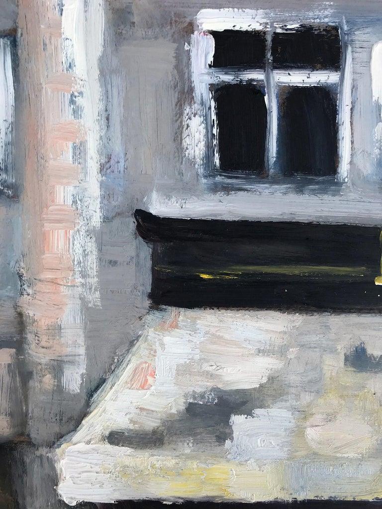 Le Soleil D'Or, Paris, Impressionist Street Scene 12