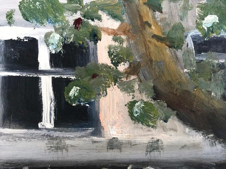 Le Soleil D'Or, Paris, Impressionist Street Scene 14