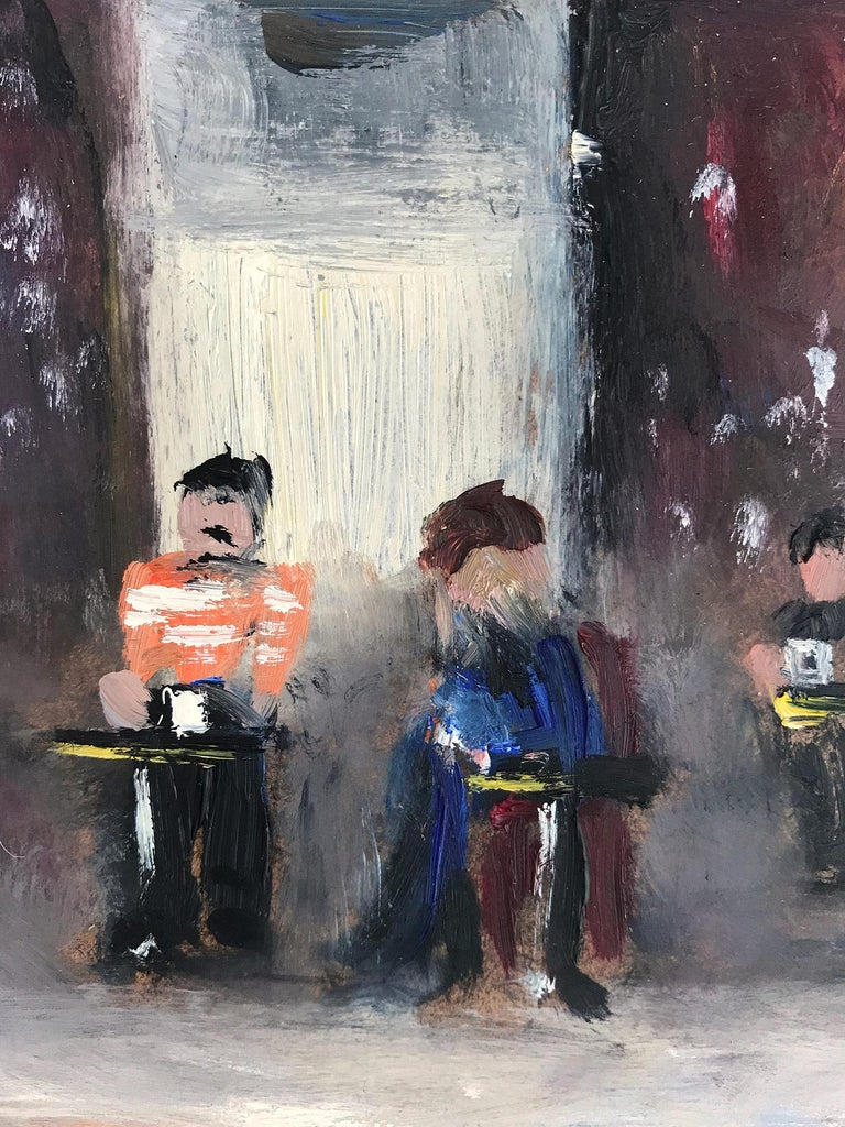 Le Soleil D'Or, Paris, Impressionist Street Scene 15