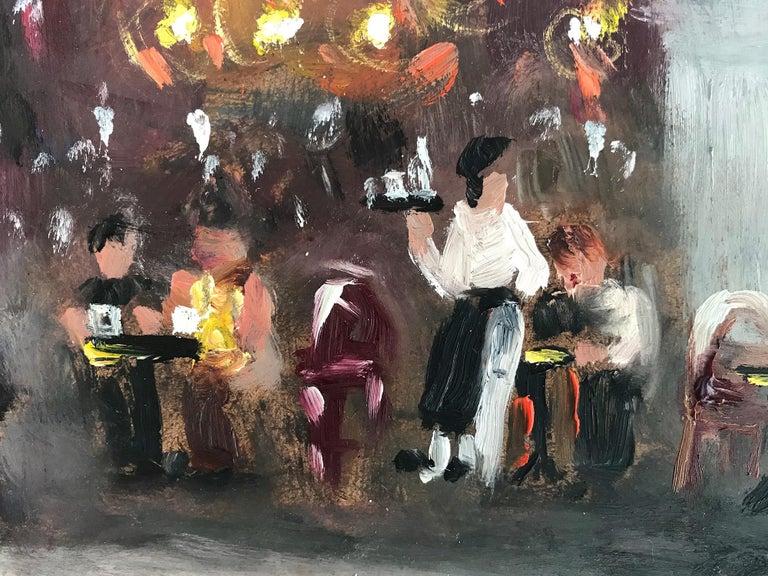 Le Soleil D'Or, Paris, Impressionist Street Scene 16