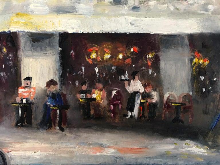 Le Soleil D'Or, Paris, Impressionist Street Scene 2