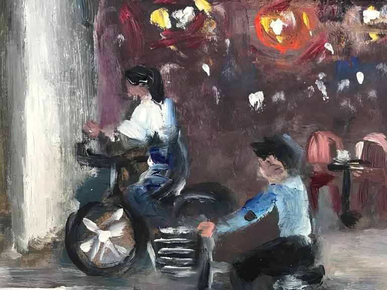 Le Soleil D'Or, Paris, Impressionist Street Scene 9