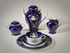 Madame de Pompadour (née Poisson) tea set