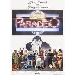 Cinema Paradiso 1988 Italian Due Fogli Film Poster