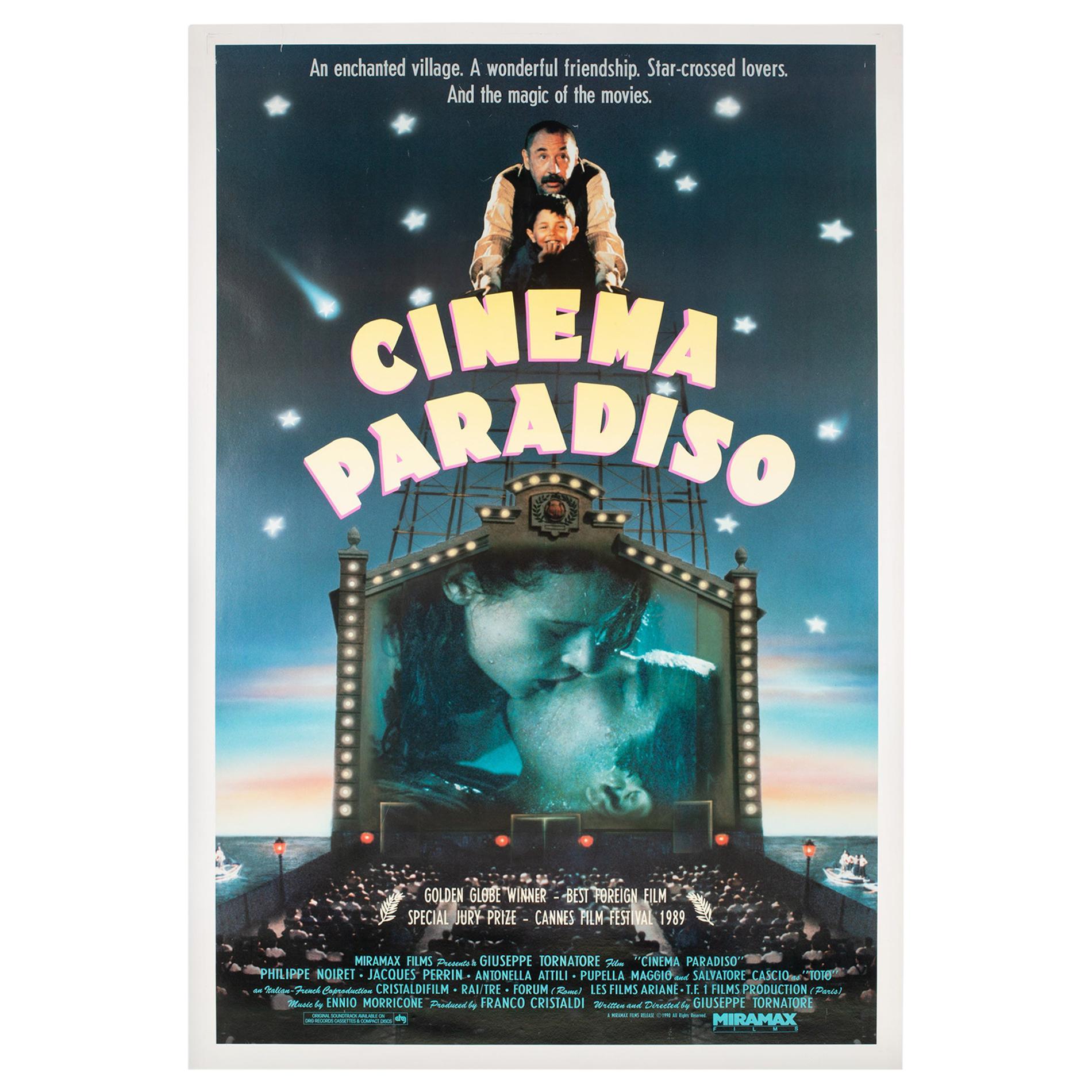 """""""Cinema Paradiso"""", US Film Movie Poster, 1990"""