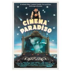 """Cinema Paradiso"", US Film Movie Poster, 1990"