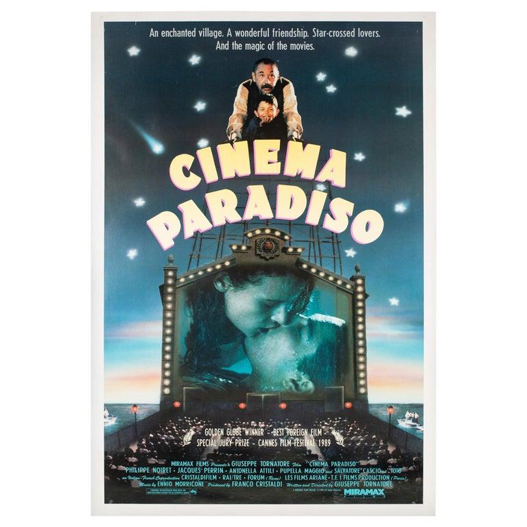 """Cinema Paradiso"", US Film Movie Poster, 1990 For Sale"