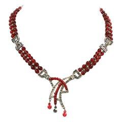 Ciner Art Deco Necklace