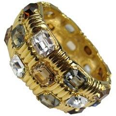 Ciner Bracelet swarovski Crystal New, Never Worn -1990s