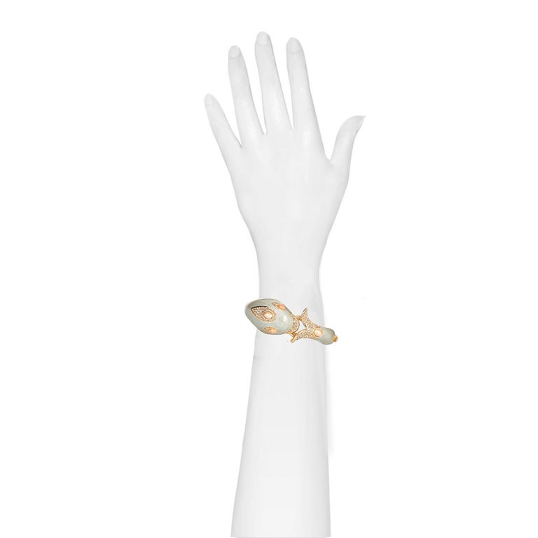 Contemporary CINER Classic Dolphin Animal Bracelet For Sale