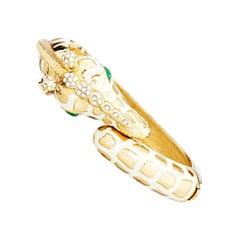CINER Giraffe Bracelet in Ivory and Gold