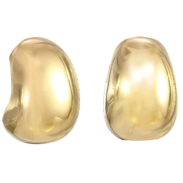 CINER Gold Dew Drop Earring For Sale
