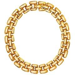 CINER Gold Subway Necklace