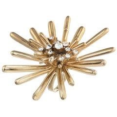 CINER Golden Sputnik Ring