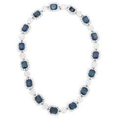 CINER Montana Sapphire Heirloom Necklace