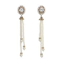CINER Pearl Tassel Earring