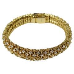 Ciner Swarovski Crystal Bracelet New,  Never Worn 1980s