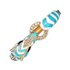 CINER Zebra Animal Bracelet in Turquoise