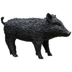 Cinghiale Sculpture by Vincenzo Romanelli