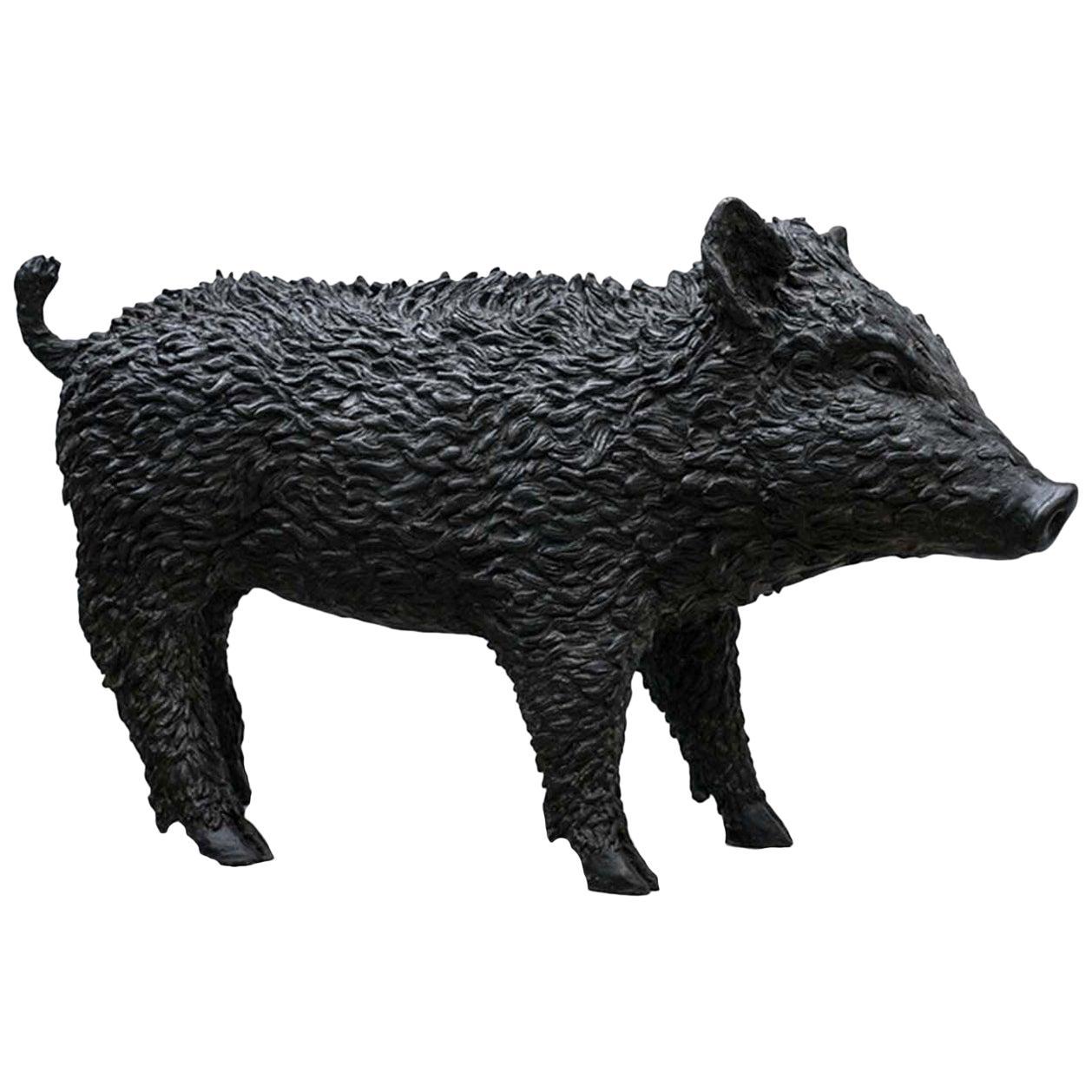 Cinghiale Sculpture by Vincenzo Romanelli