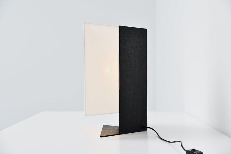 Mid-Century Modern Cini Boeri Accademia Table Lamp Artemide, Italy, 1978 For Sale