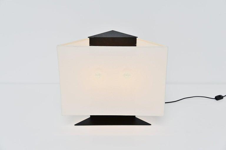 Italian Cini Boeri Accademia Table Lamp Artemide, Italy, 1978 For Sale