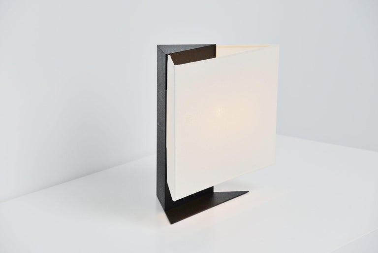 Cold-Painted Cini Boeri Accademia Table Lamp Artemide, Italy, 1978 For Sale