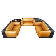 Cini Boeri for Gavina-Knoll Gradual Lounge Five-Piece Modular Sofa System, 1973