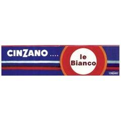 Cinzano… le Bianco Bus Poster by Villemot Original Vintage Poster
