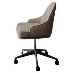 Cipriani Swiveling Desk Chair in Leather