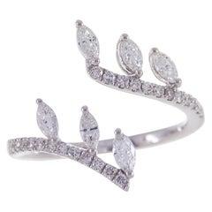 Cirari 0.66 Carat Diamond 18 Karat White Gold Fashion Ring