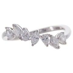 Cirari 0.67 Carat TDW Diamond 18 Karat White Gold Fashion Ring