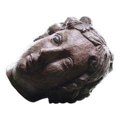 Circa 1790/1810 Regency Irish Carved Ships Figurehead