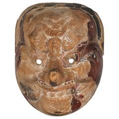 Japanese Court Dance Mask / Bugaku, circa 1800