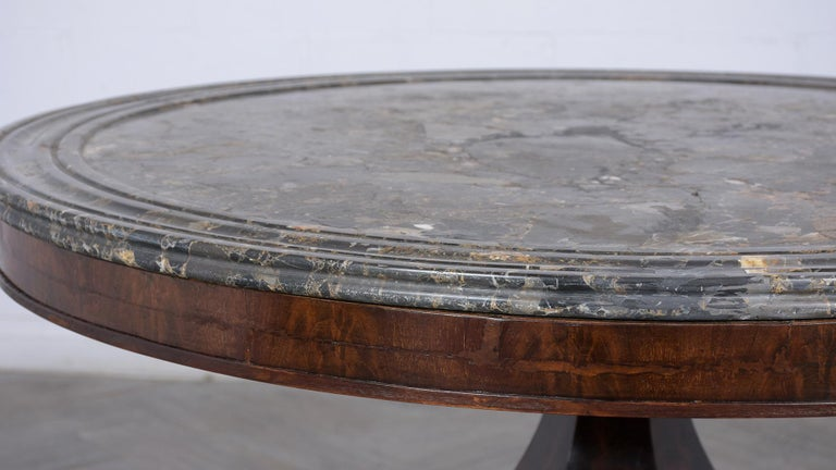 Mid-19th Century French Empire Style Center Table, circa 1850s For Sale