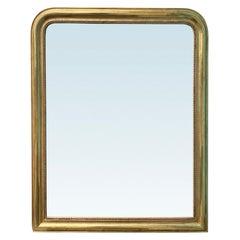 Circa 1870 French Louis Philippe Giltwood Mirror