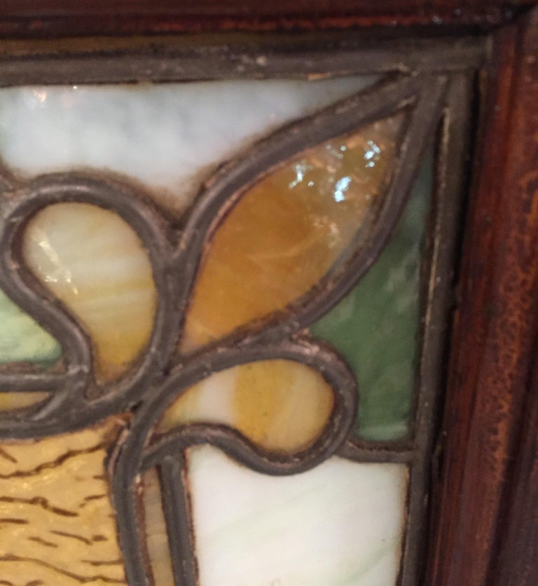 Stained Glass Window, circa 1880 For Sale 4