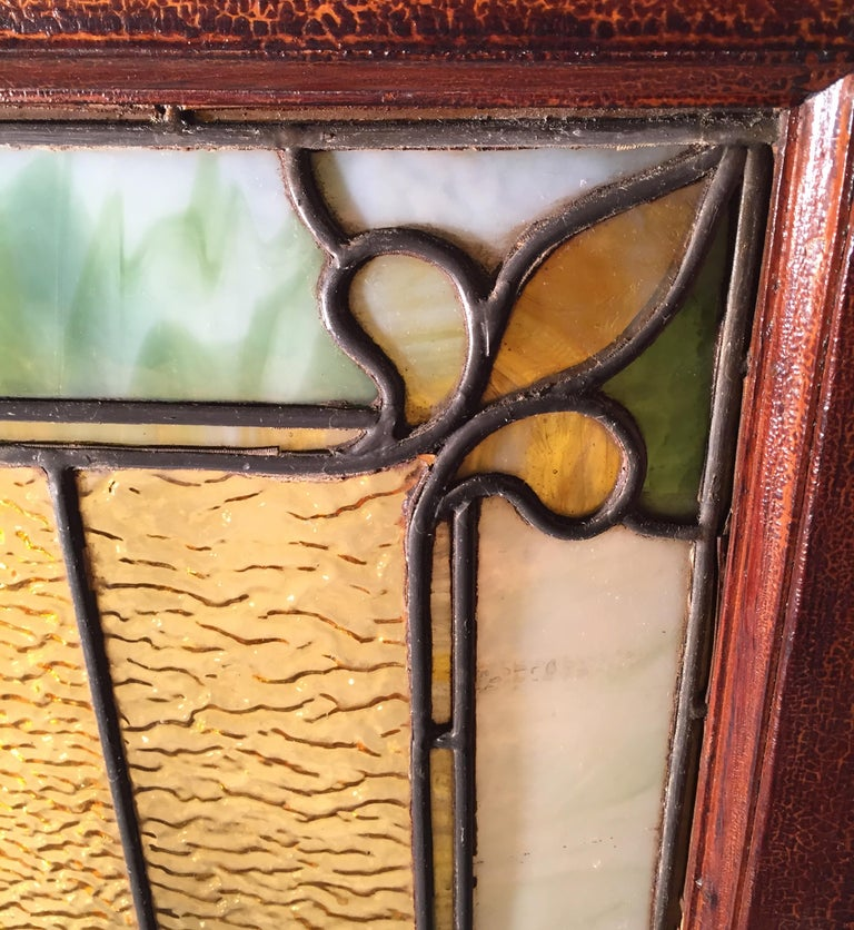 Stained Glass Window, circa 1880 For Sale 6