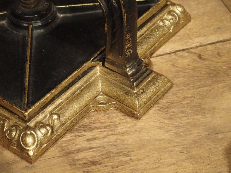 Painted Cast Iron Book Press from Germany, circa 1890 For Sale 5