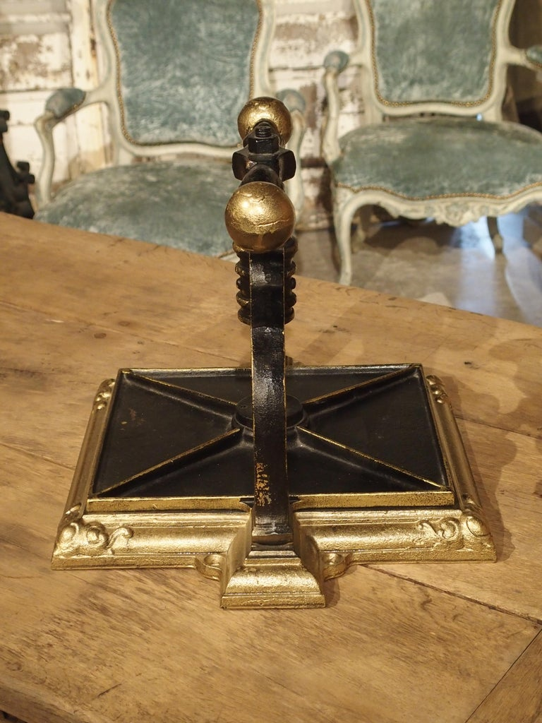 Painted Cast Iron Book Press from Germany, circa 1890 For Sale 4