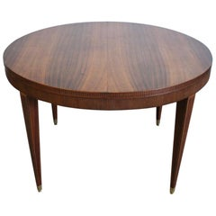 Continental Centre Table in Rosewood, circa 1900
